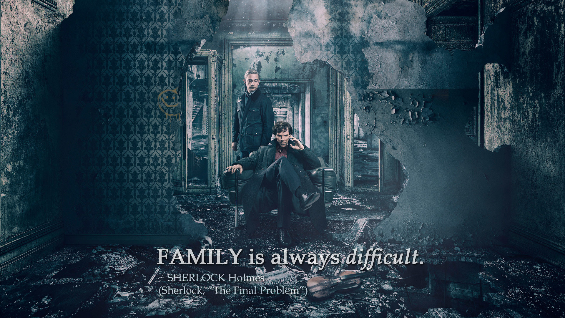 Family Is Always Difficult (Sherlock, The Final Problem)
