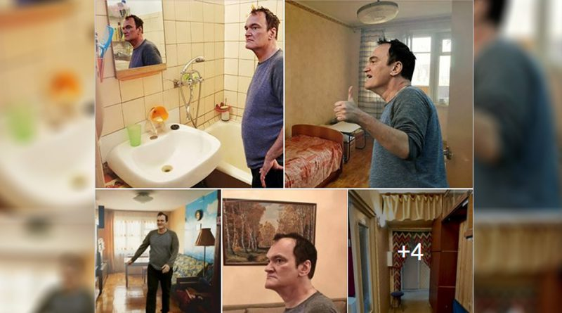 "Creative Russian ""hired"" Quentin Tarantino to sell flat"
