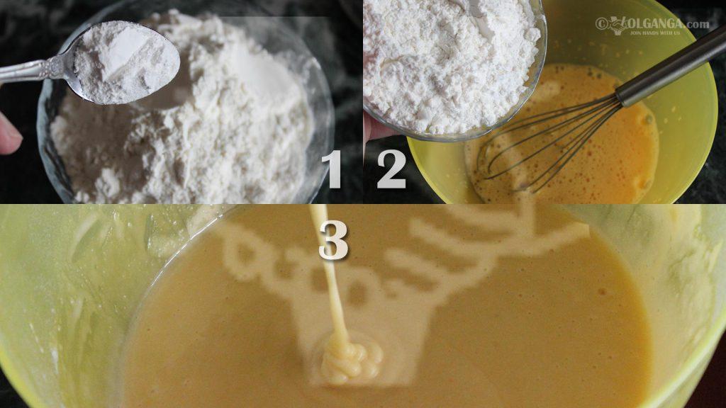 Batter for Sharlotka - step 2