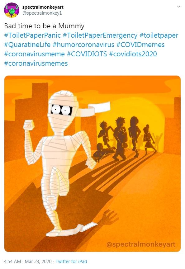 Coronavirus meme - bad time for mummy