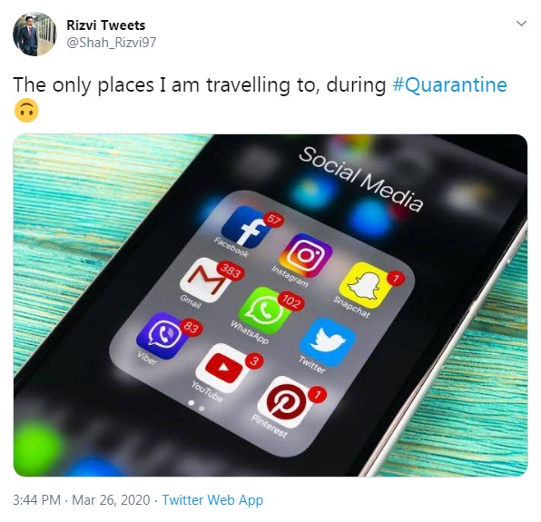 Places to visit on quarantine