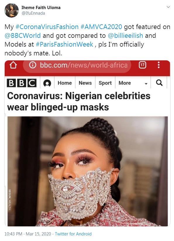 Glamour mask