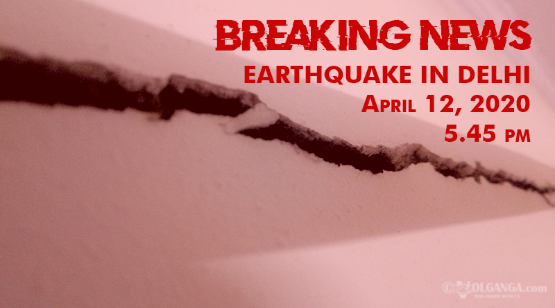 BREAKING NEWS: Wave of earthquake tremors ran across Delhi