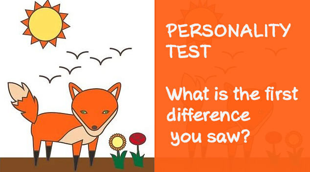 The first difference you find describes your personality
