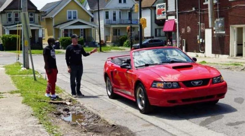 Teen gets a car for cleaning streets overnight