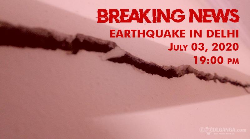 Earthquake tremor wave hits Delhi-NCR